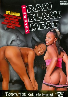 Raw Black Meat
