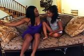 Ebony teens love to exper...