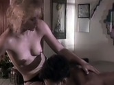Vintage blonde whore gets busy