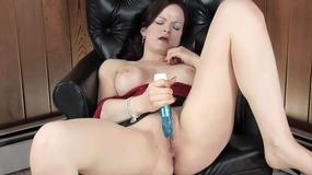 Janessa prefers her dildo sometimes