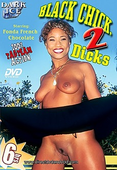Black Chick 2 Dicks