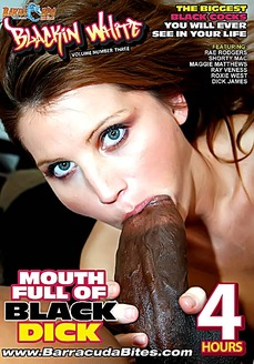 Mouth Full Of Black Dick