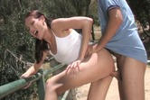 Explorers undress to lick, suck and fuck outdoors The Girls Of Barely 18 5