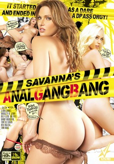 Savanna's Anal Gang Bang