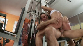 Gioia biel gets her pussy stretched by a...