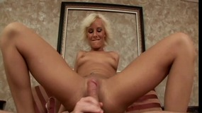 Cute moans as ass hole is banged a...