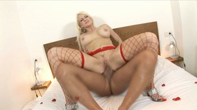 blonde,,fishnet,stockings,,high,heels,,giant,boobs,,busty,,european,,platinum,blonde,,shaven,pussy,,riding,,cowgirl,,fake,tits,,money-shot