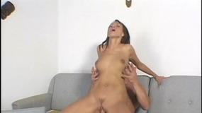 Blonde Sara O'Neil has her sphincter stretched by a guy