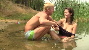 outdoors,,lake,,couple,,congenital,tits,,thick,tits,,trunk,sucking,,wet,,blowjob,,shaved,,fingering,,brunette,,muff,eating,,cowgirl,,jizz,on,pussy,,lean
