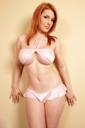 lingerie redhead