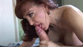 busty dirty mature gets a very thick cock.