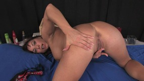brunnete, milf, mother, mom, big, boobs, big, tits, big, boobies, fake, tits, fake, boobs, shaved, pussy, bed, toy, sucking, solo, girl, solo, female, masturbation, toys, canadian