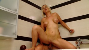 blonde, big, boobs, natural, tits, shower, shower, ulo, shaved, pussy, magsalsal, puki, gasgas, blowjob, puki, pagdila, nakatayo, fuck, riding, reverse, cowgirl, cumshot