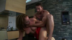Hot Slut Got Fucked In The Kitchen