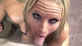 Skylar Rae gives Logan a blowjob