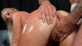 Dirty dirty mouth oiled up and fucked soft