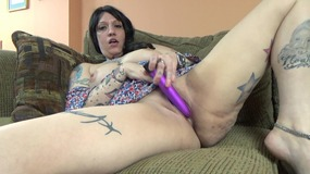 pornhubac, milf, chick, brunette, pussy, play, fingering, masturbation, self, play, toys, dildo, natural, wet