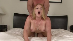 Blonde milf cuckolds husband and fuck with someone else
