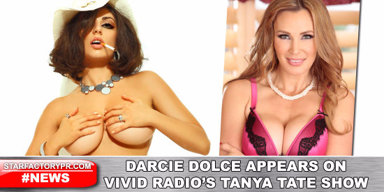 57226-Darcie Dolce to Appear On Tanya Tate Show On Vivid Radio 27th September-Tanya Tate