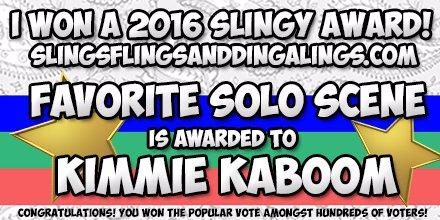 57630-SLINGY AWARD-Kimmie KaBoom