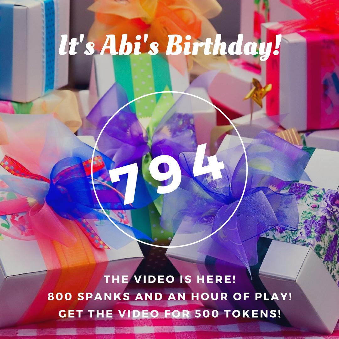 70272-Birthday Spanking of a Lifetime!-AbigailGrey