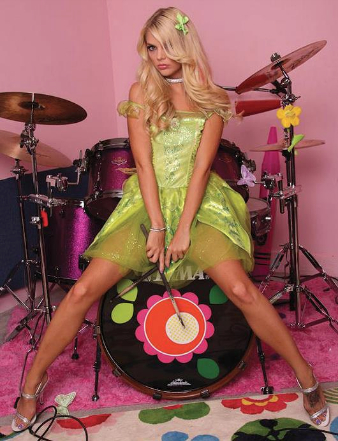 53118-Pretty Drummer!-Jana Jordan