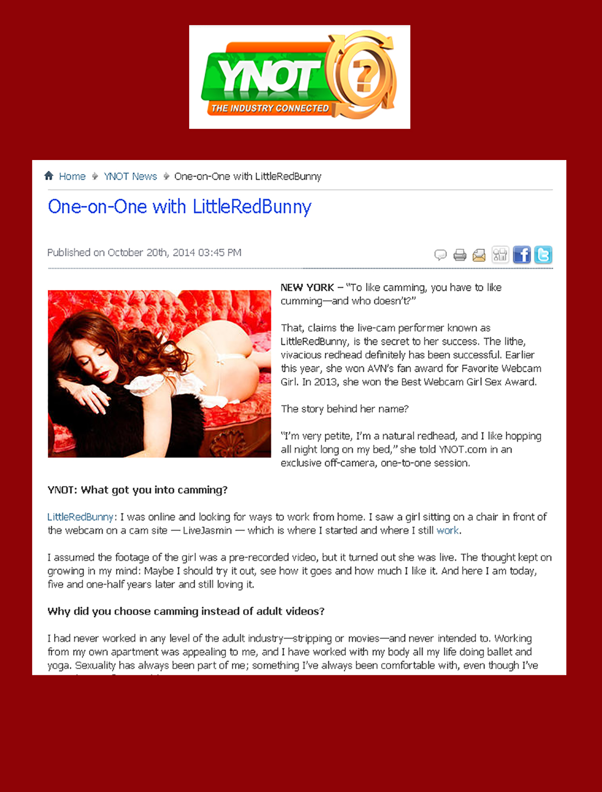 8122-YNOT Interview-LittleRedBunny