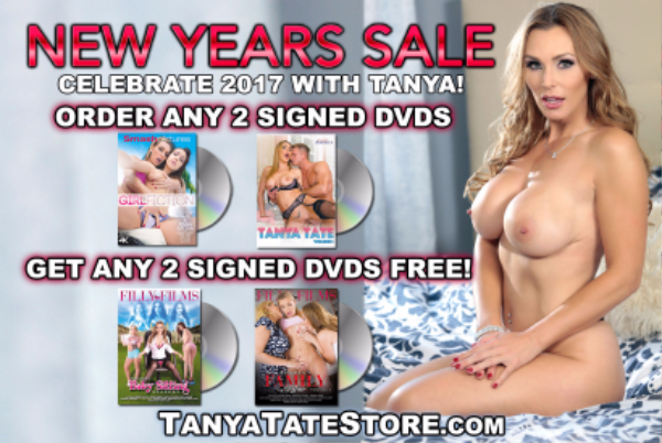 69660-New Year Sale Buy 2 DVDs Get 2 DVDs Free-Tanya Tate