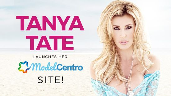 18316-PR - Tanya Tate, Award-Winning Star, Launches Site on ModelCentro-Tanya Tate